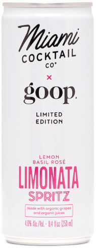 goop x Miami Cocktail Company Limonata SPRITZ