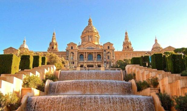 Visiting the Museum Montjuic, Poble Sec & Sant Antoni: Museu Nacional d'Art de Catalunya