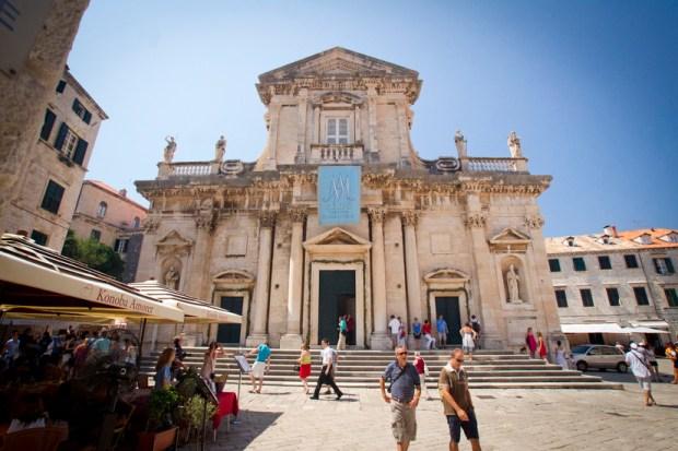 cathedral of Dubrovnik, Croatia