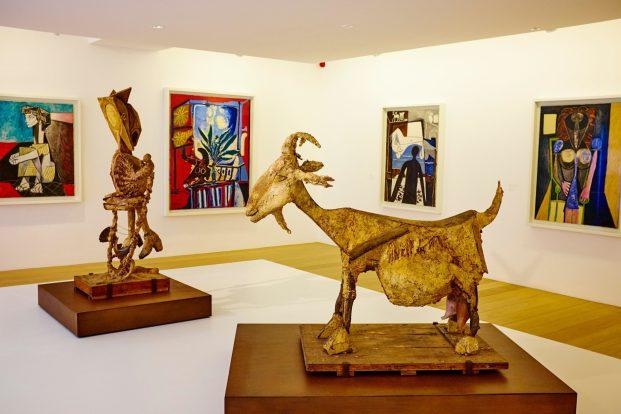 Visiting the Museum in La Ribera: Museu Picasso
