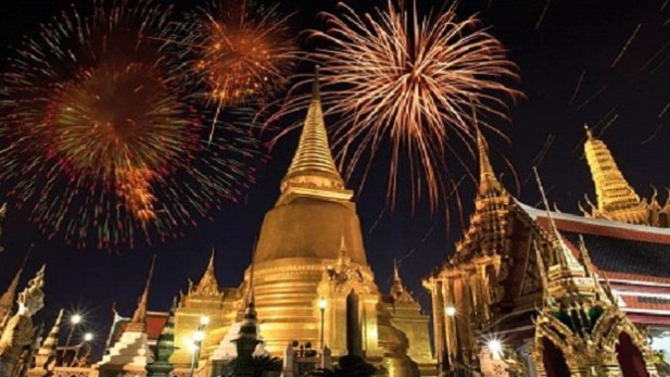 Celebrating 2020 New Year's Eve in Thailand