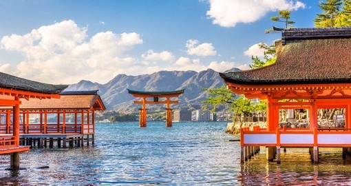 Japanese Island of Miyajima Now