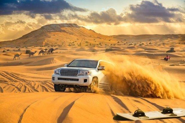 Lahbab Desert, United Arab Emirates Dune bashing