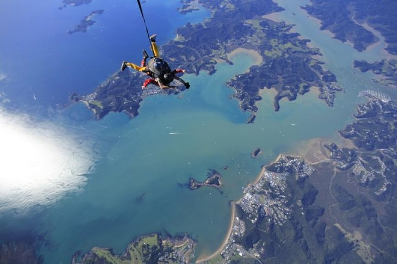 Skydive Bay of Islands New Zealand