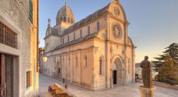 The Cathedral of St. James' Šibenik Croatia