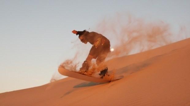 Usaka Desert, Peru Sandboarding