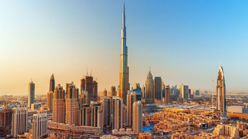 Visiting Burj Khalifa in Dubai The World's Tallest Building
