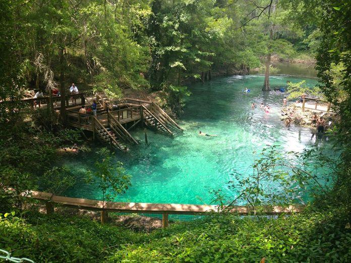 Florida Springs Camping Madison Blue Springs State Park