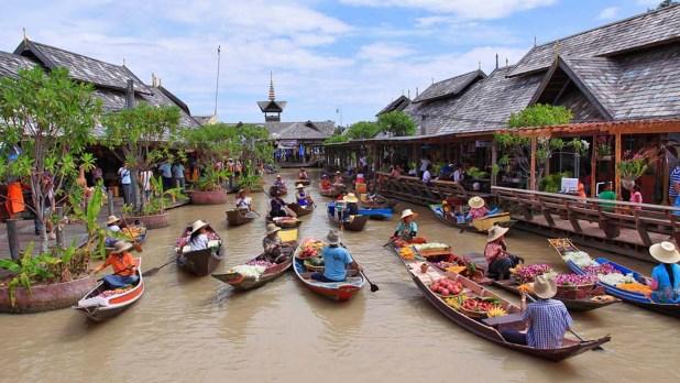 Pattaya Floating Market, Thailand