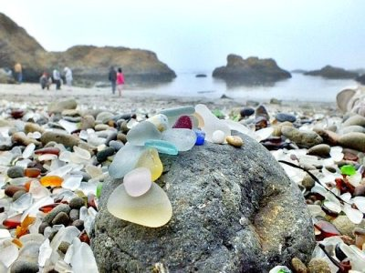 Sea Glass Beach California