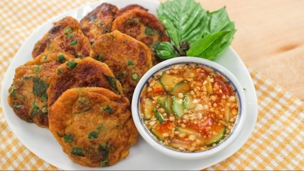 Tod Mun Pla (Thai Fish Cake)