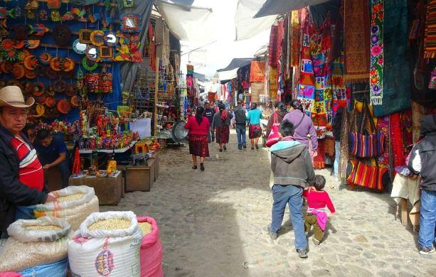 Visit Chichi Market for handicraft shopping