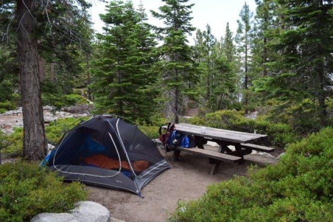 Emerald Bay in Lake Tahoe Camping