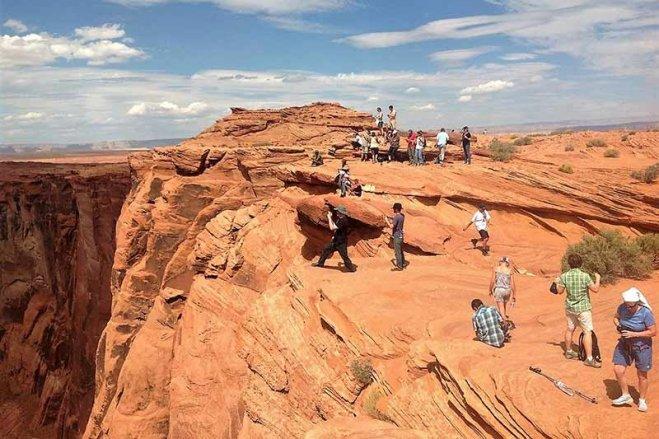Hike to Horse Shoe Bend Arizona