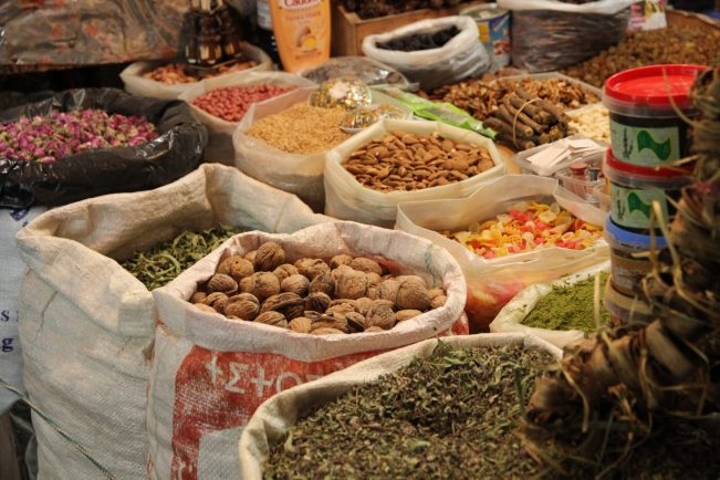 Morocco food spices