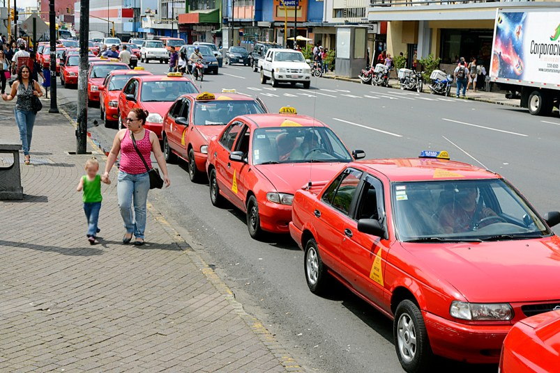 Authorized taxis in Costa Rica