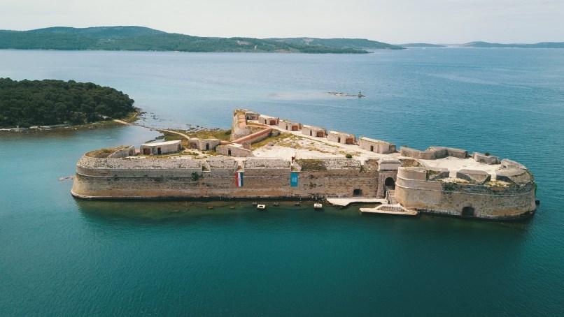 St. Nicholas Fortress Sibenik Croatia