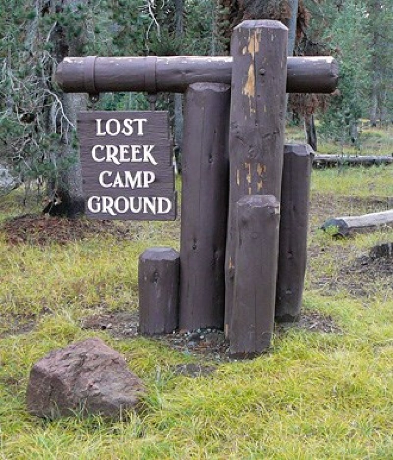 Lost Creek Campground for Crater Lake Camping