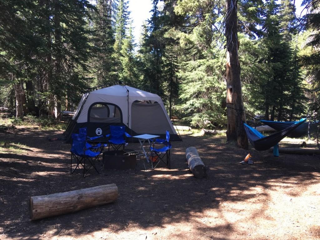Mazama Campground for Crater Lake Camping
