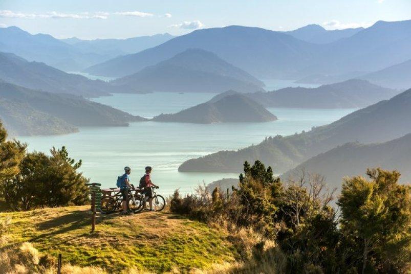 Queen Charlotte Track, Marlborough, South Island New Zealand