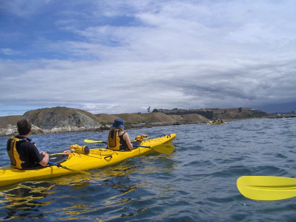 Visit Marlborough Kaikoura Sea Kayak on South Island New Zealand