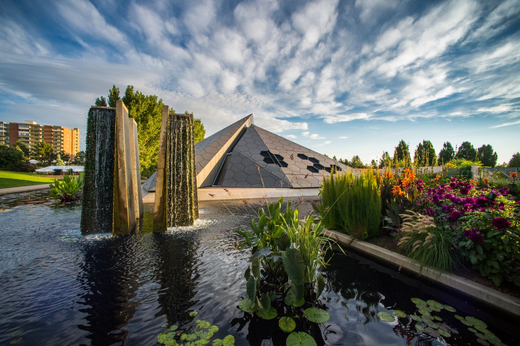 Denver Botanic Gardens in Colorado