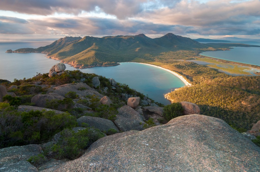 Freycinet National Park in Tasmania Australia