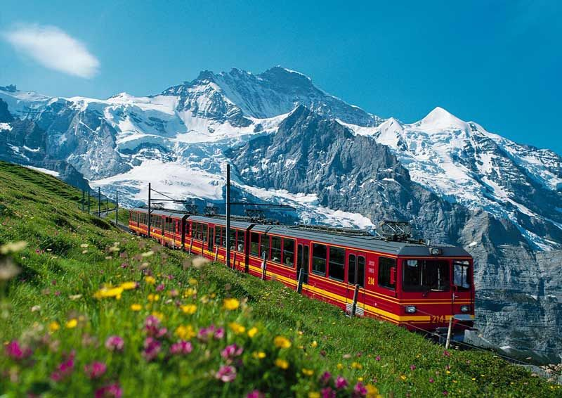 How do you get to Interlaken in Switzerland?