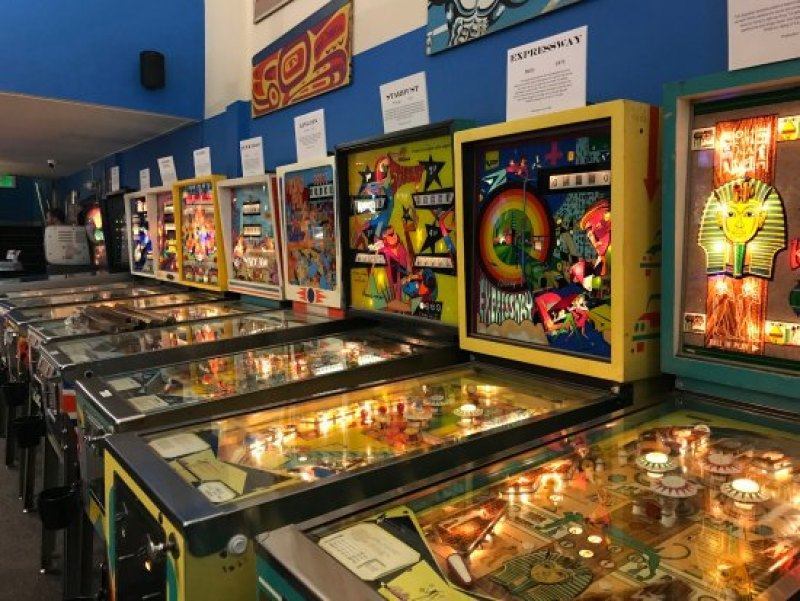 Play Games at the Pinball Museum