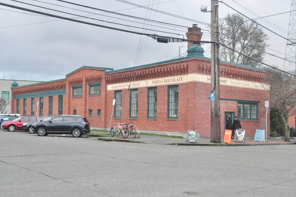 Theo Chocolate Factory in Seattle