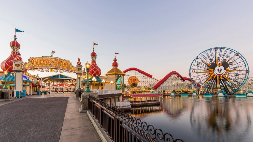 Visit Disneyland and California Adventure