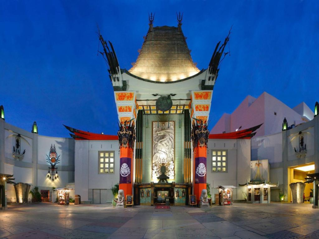 Visit Grauman's Chinese Theater in Los Angeles, California