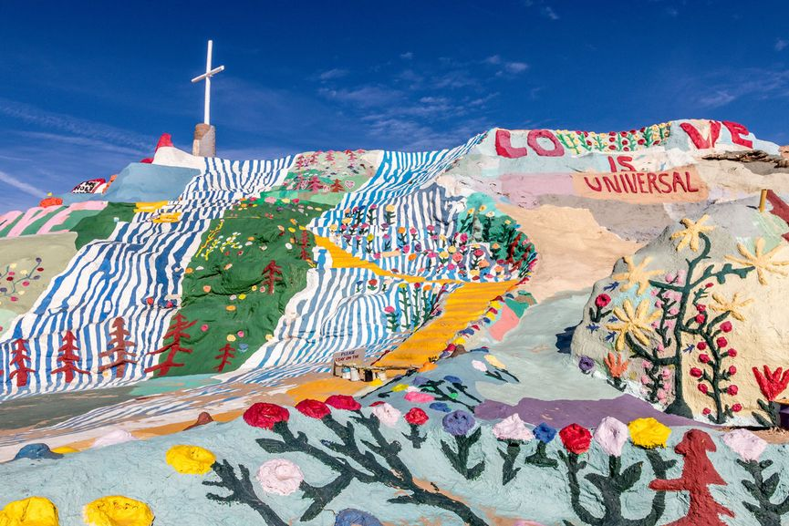 Visit Salvation Mountain