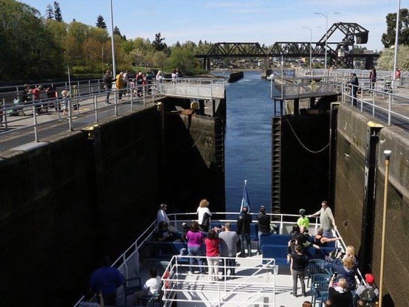 Visit the Ballard Locks Seattle