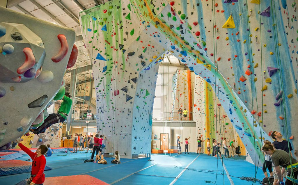 Visit the Indoor Climbing Gym in Seattle