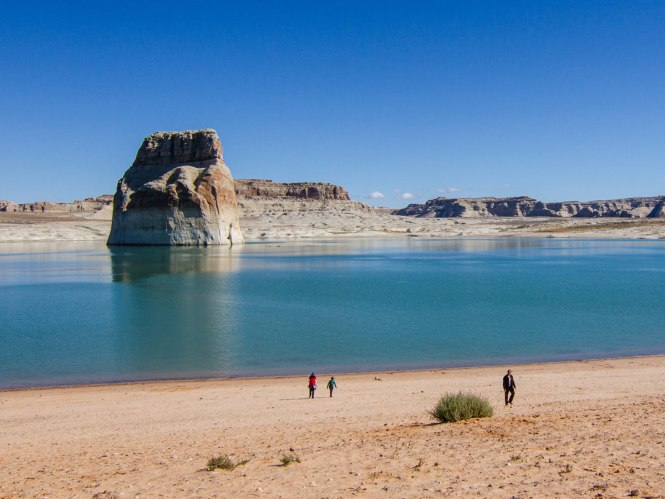 Lake Powell Beach in Arizona