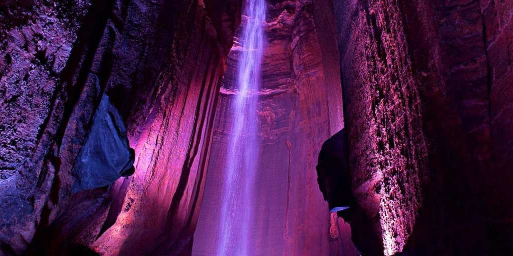 Lookout Mountain in Chattanooga Ruby Falls