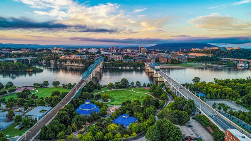 Tour Around River Park in Chattanooga