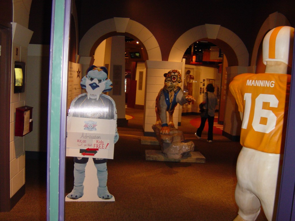Visit Tennessee Sports Hall of Fame and Museum