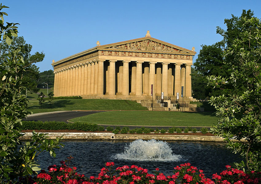 Visit the Parthenon in Nashville Tennessee