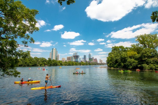 Enjoy Time in the Lady Bird Lake Things to do in Austin