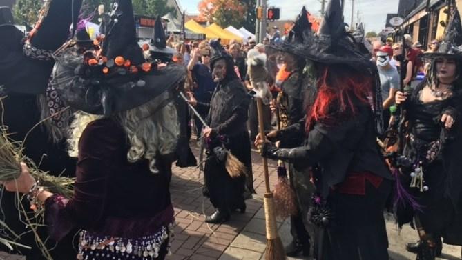 Irvington Halloween Festival in Indiana
