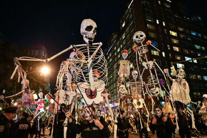 Village Halloween Parade in New York