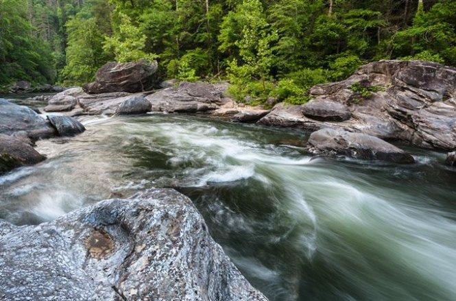 Eye of God Rapid Chattooga River