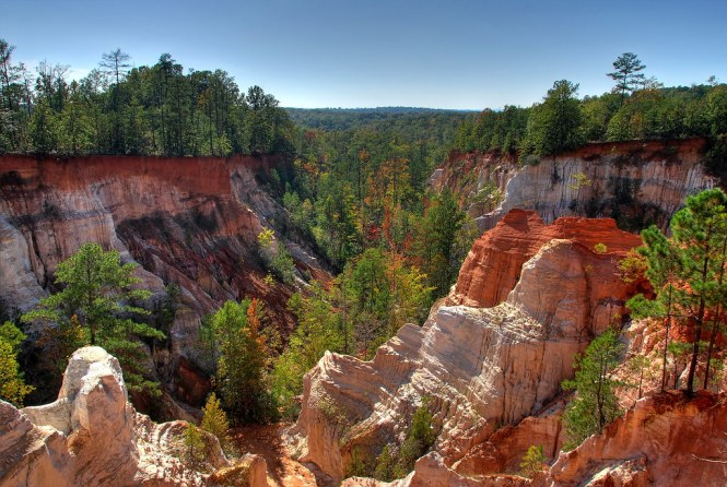 Providence Canyon State Park in Georgia