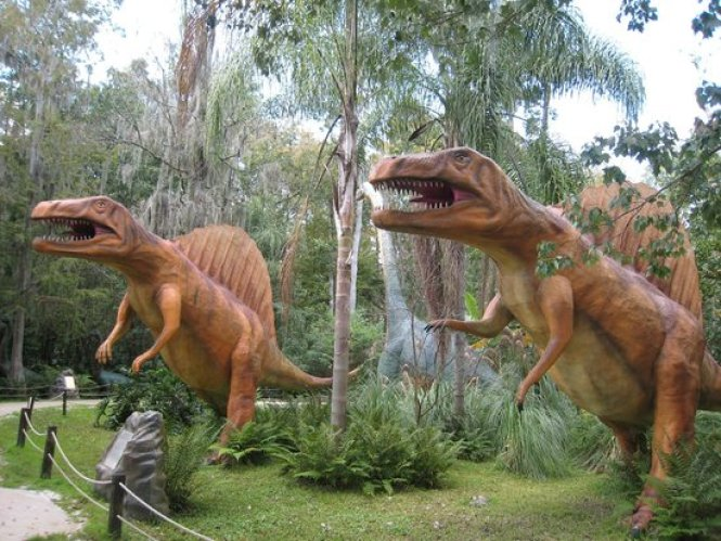 Things to do in Tampa Visit the Dinosaur World