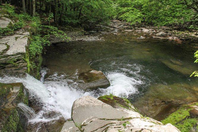 Corbet's Glen Nature Park in New York USA