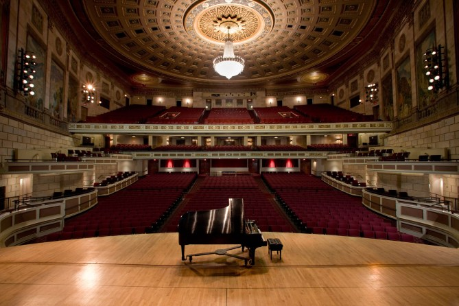 Kodak Hall in Rochester NY