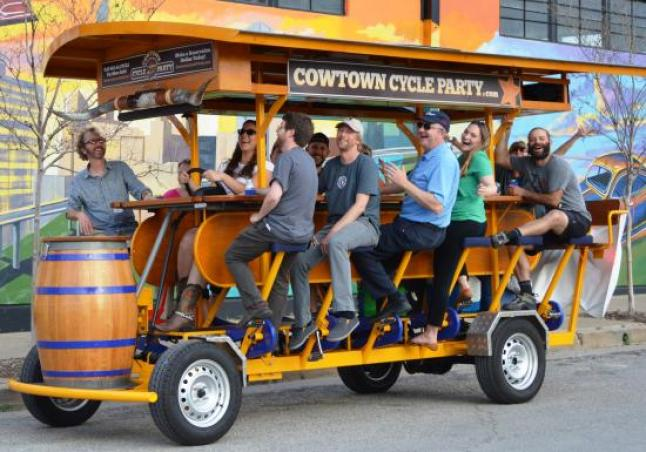 Things to Do in Fort Worth Cowtown Cycle Party