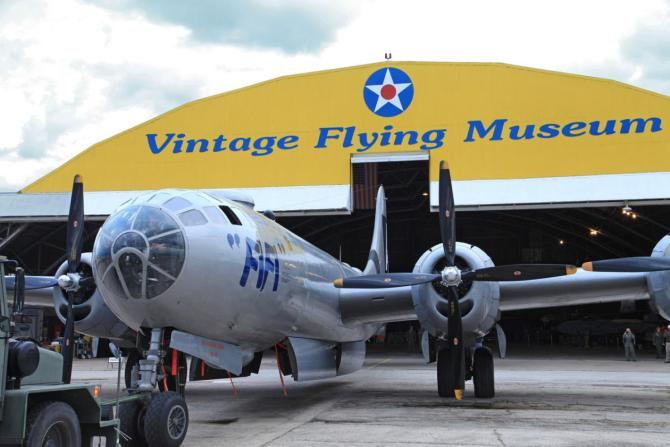 Things to Do in Fort Worth Vintage Flying Museum